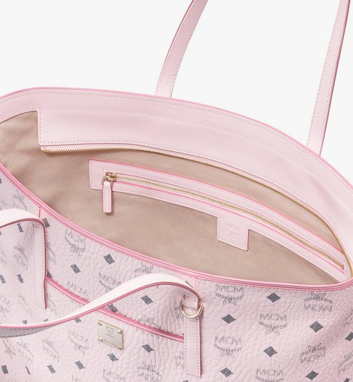MCM Anya Shopper in Visetos Pink MWP9AVI61QH001 Alternate View 4