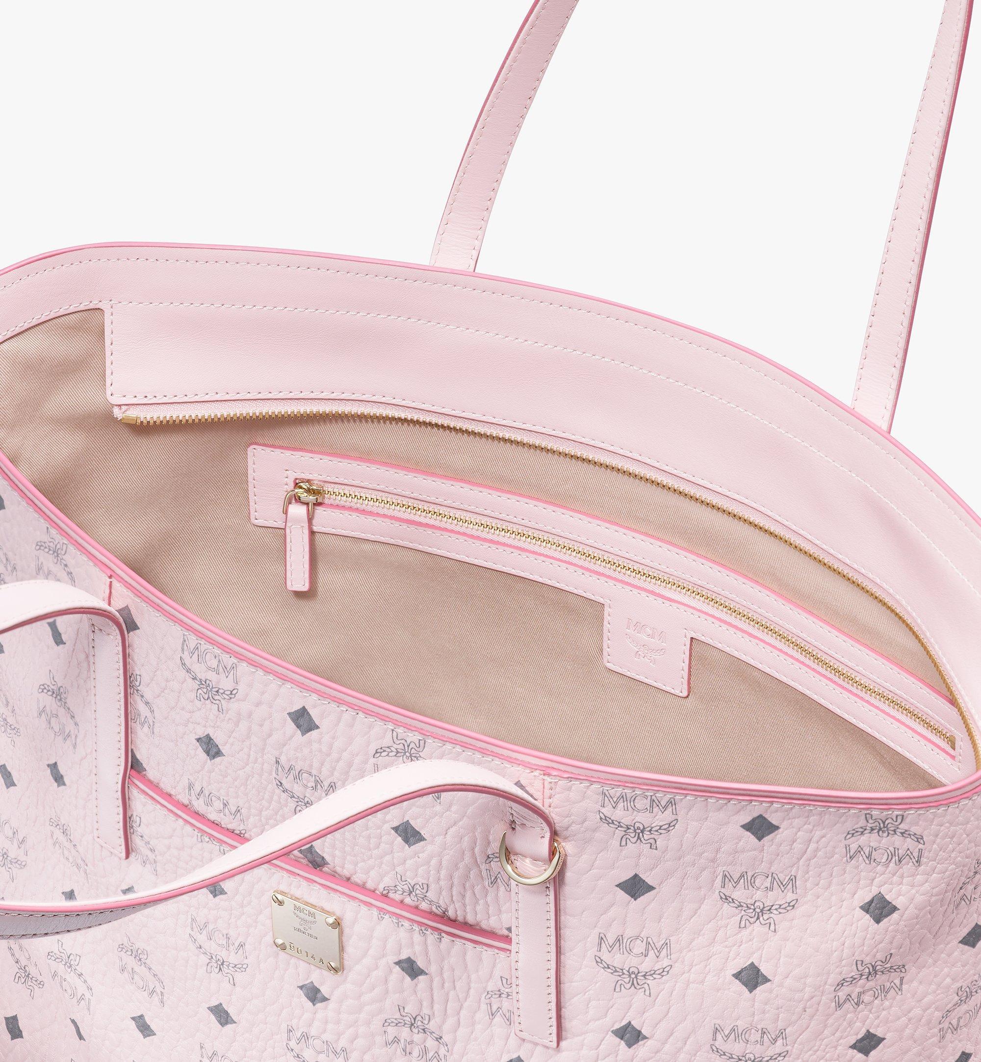 MCM Visetos 系列的 Anya Shopper 包款 Pink MWP9AVI61QH001 Alternate View 4