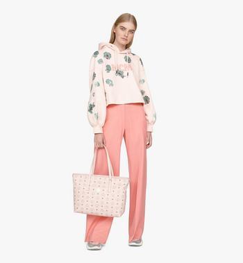 MCM Anya Shopper in Visetos Pink MWP9AVI61QH001 Alternate View 5