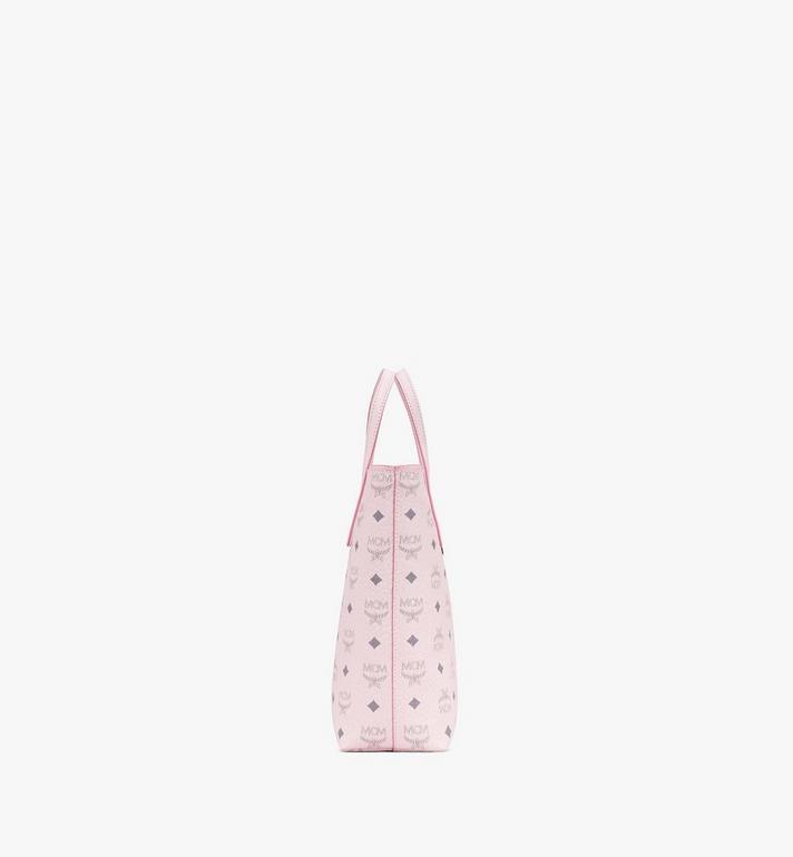 MCM Anya Shopper in Visetos Pink MWP9AVI77QH001 Alternate View 2