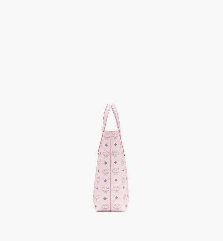 MCM Anya Shopper in Visetos Pink MWP9AVI77QH001 Alternate View 2