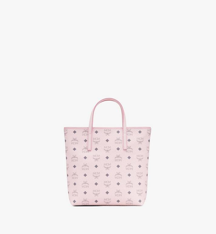 MCM Anya Shopper in Visetos Pink MWP9AVI77QH001 Alternate View 3