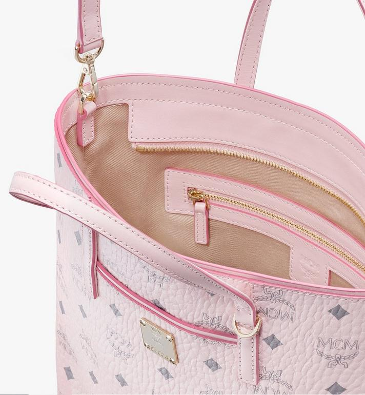 MCM Anya Shopper in Visetos Pink MWP9AVI77QH001 Alternate View 4