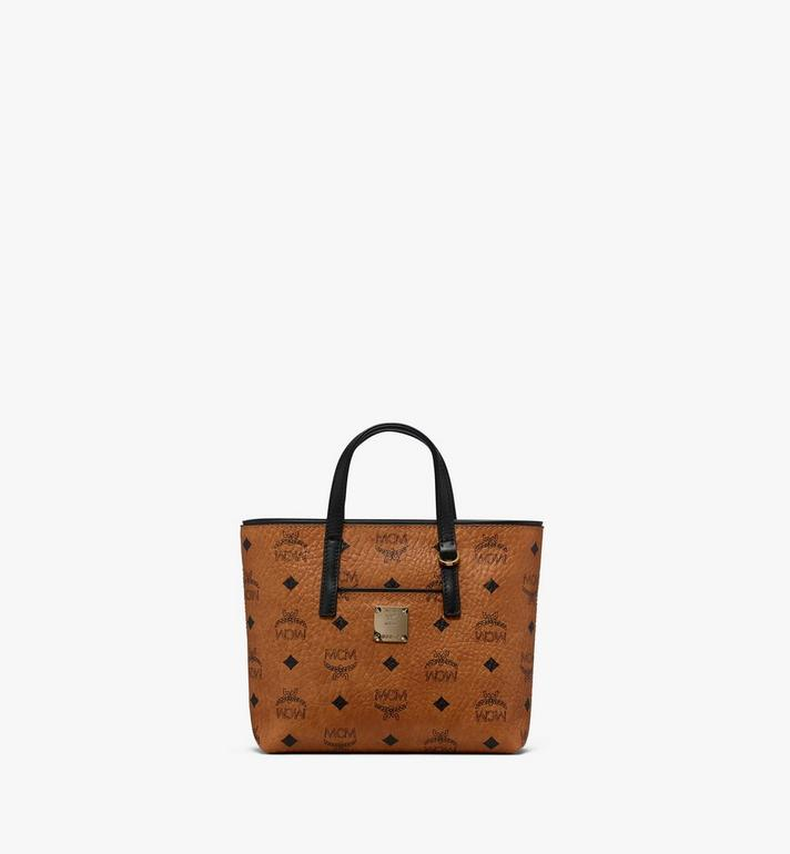 MCM Visetos 系列的 Anya Shopper 包款 Cognac MWP9AVI78CO001 Alternate View 1