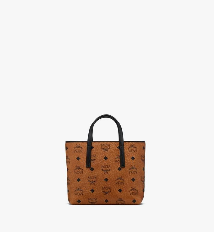 MCM Anya Shopper in Visetos Cognac MWP9AVI78CO001 Alternate View 3
