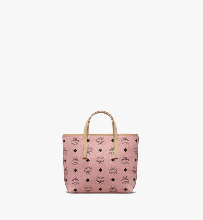 MCM Anya Shopper in Visetos Pink MWP9AVI78PZ001 Alternate View 3