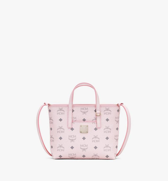 MCM Anya Shopper in Visetos Pink MWP9AVI78QH001 Alternate View 1
