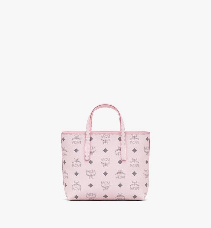 MCM Anya Shopper in Visetos Pink MWP9AVI78QH001 Alternate View 3