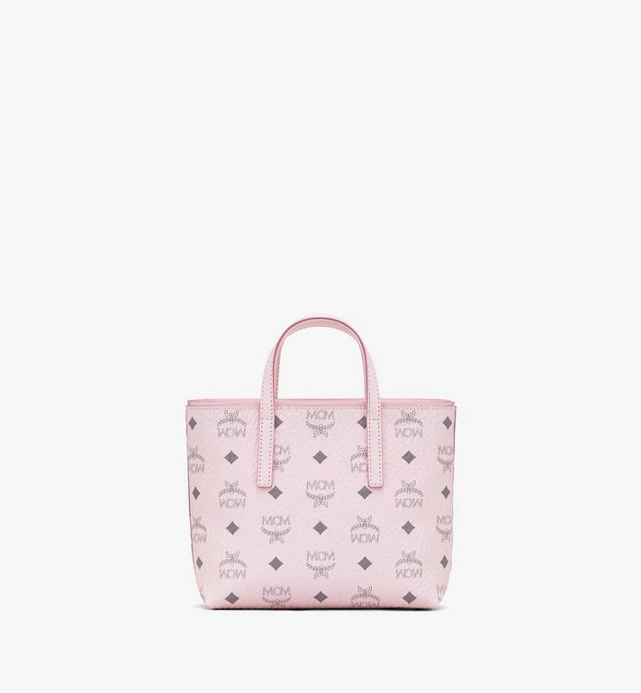 MCM Visetos 系列的 Anya Shopper 包款 Pink MWP9AVI78QH001 Alternate View 3