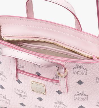 MCM Anya Shopper in Visetos Pink MWP9AVI78QH001 Alternate View 4