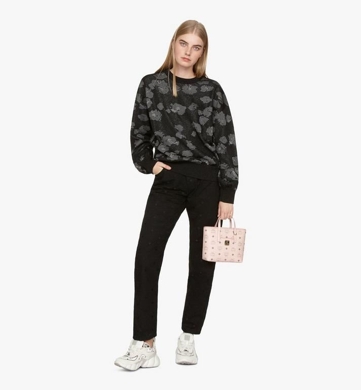 MCM Anya Shopper in Visetos Pink MWP9AVI78QH001 Alternate View 5