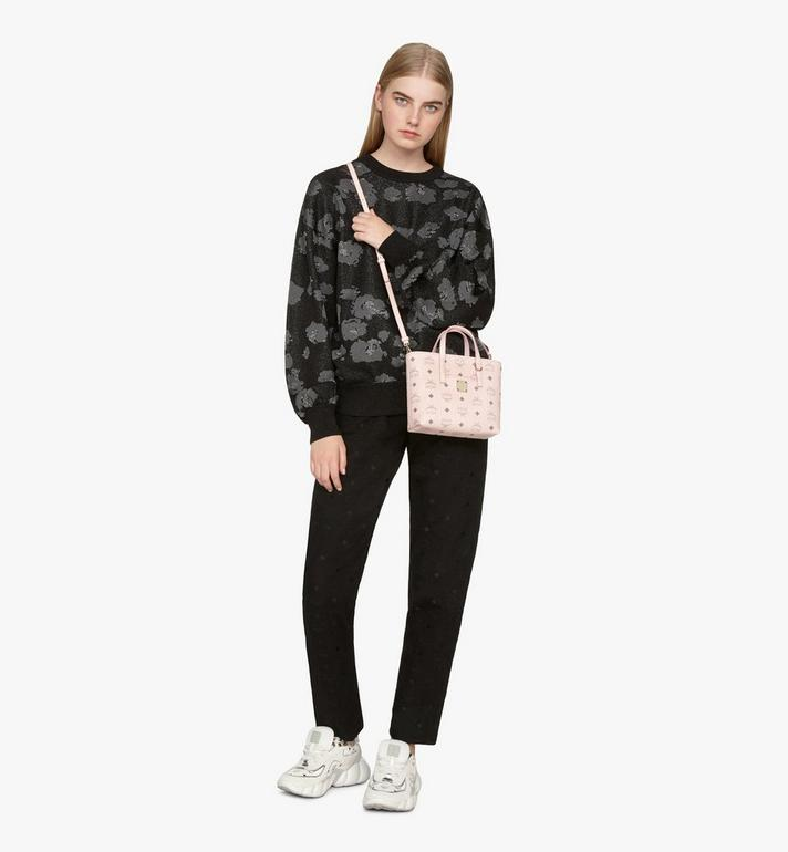 MCM Anya Shopper in Visetos Pink MWP9AVI78QH001 Alternate View 6