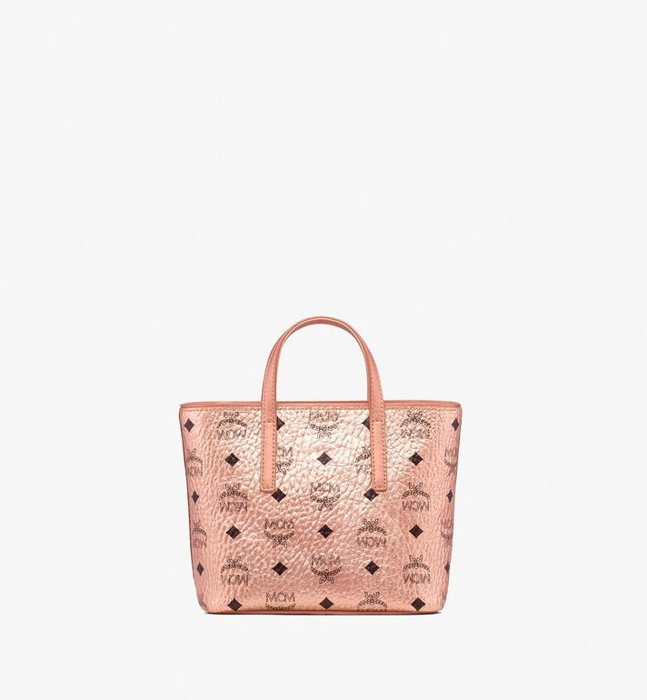 MCM Anya Shopper in Visetos Gold MWP9AVI98TC001 Alternate View 3