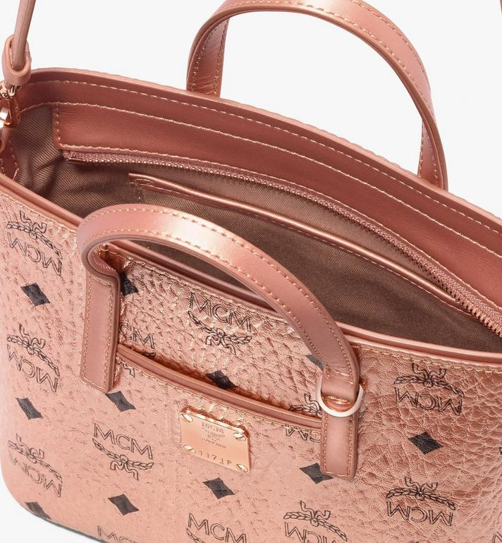 MCM Anya Shopper in Visetos Gold MWP9AVI98TC001 Alternate View 4
