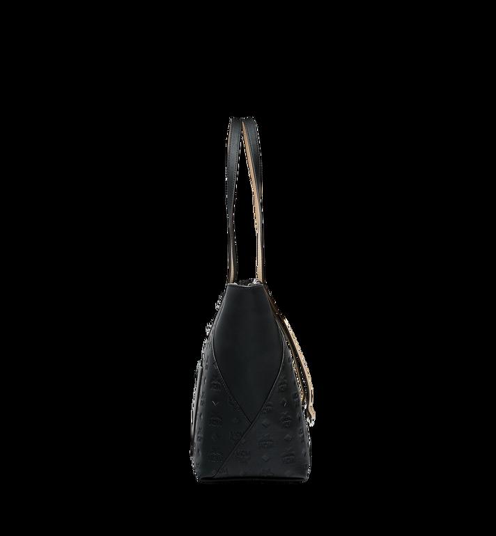 MCM Klara Shopper-Tasche aus Leder mit Monogramm Black MWP9SKM51BK001 Alternate View 3