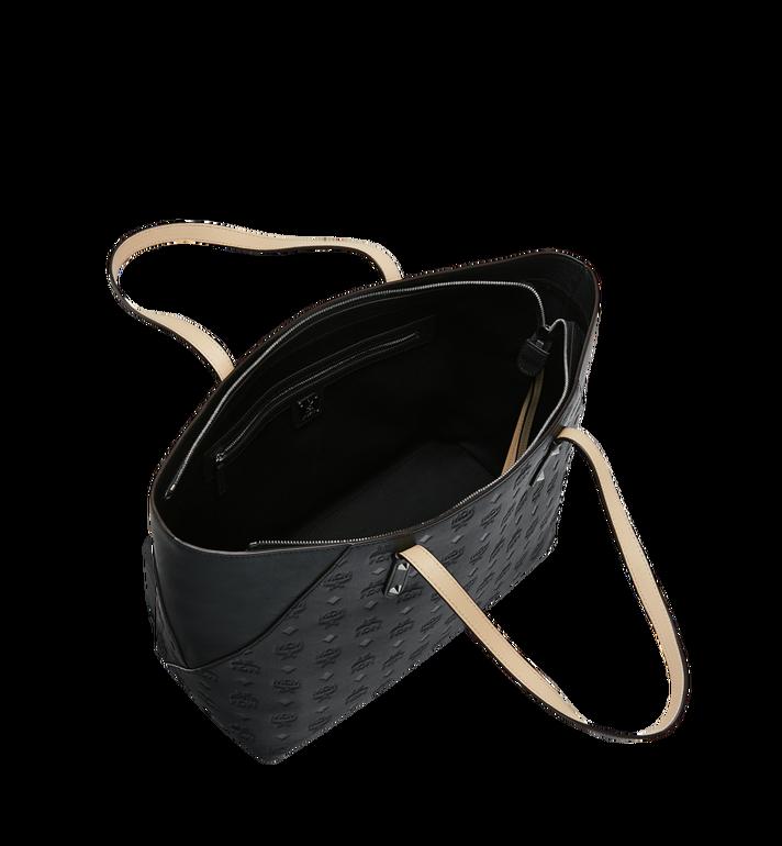 MCM Klara Shopper-Tasche aus Leder mit Monogramm Black MWP9SKM51BK001 Alternate View 5
