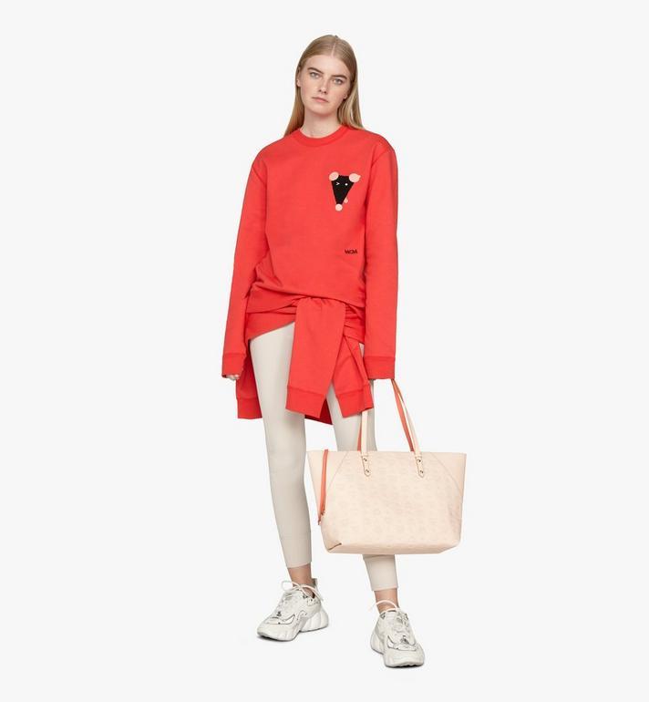 MCM Klara Shopper in Monogram Leather  MWP9SKM51II001 Alternate View 5