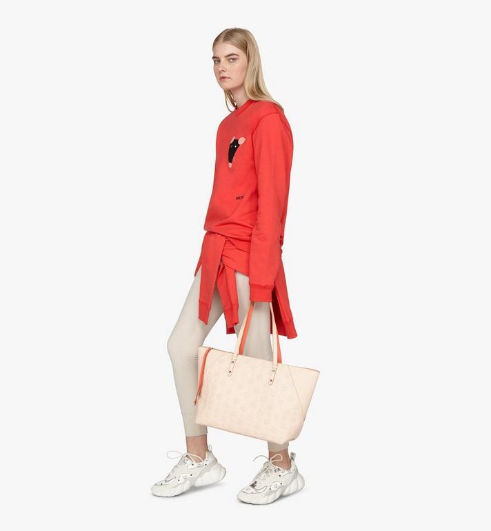 MCM Klara Shopper in Monogram Leather  MWP9SKM51II001 Alternate View 6