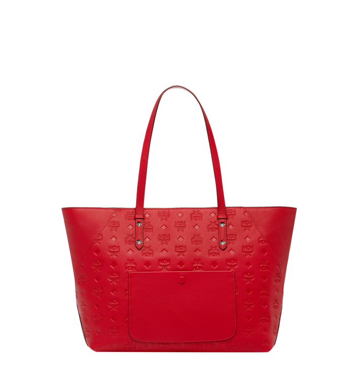 MCM Klara Shopper in Monogram Leather Alternate View 4