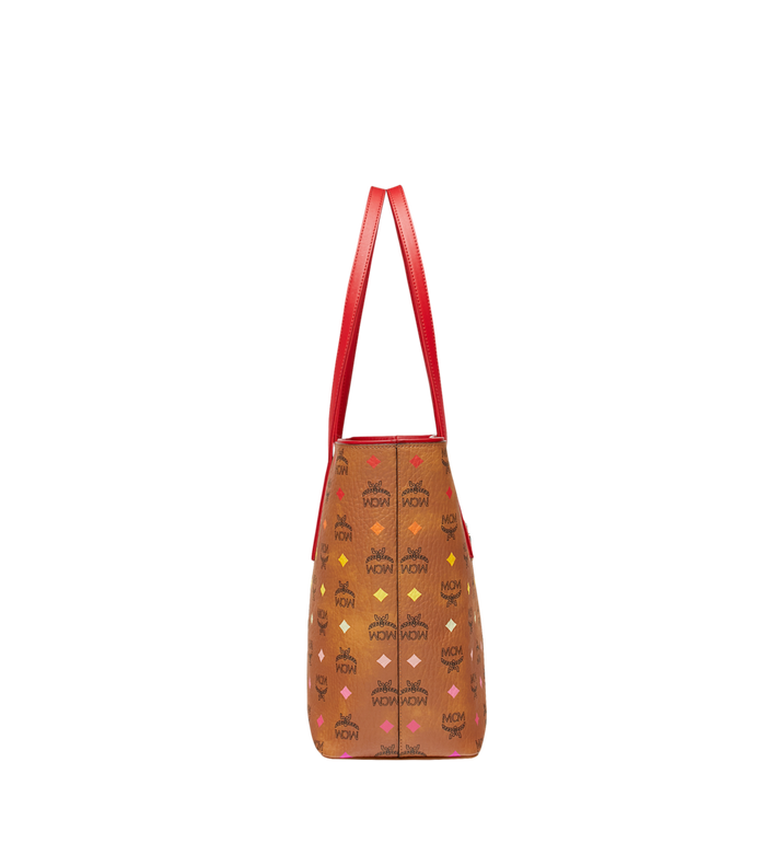 MCM Anya Shopper mit Reissverschluss in Spektrum Visetos Cognac MWP9SVI43CA001 Alternate View 3
