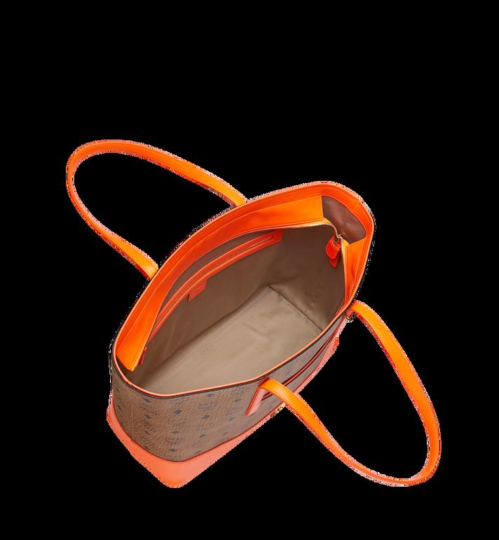 MCM Geonautic Shopper-Tasche in Visetos Cognac MWP9SWI13CO001 Alternate View 5