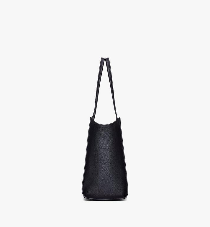 MCM Luisa Shopper in Visetos Leather Block Black MWPAALZ01BK001 Alternate View 2