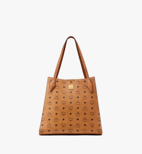 Visetos 系列的拼色皮革 Luisa 購物袋