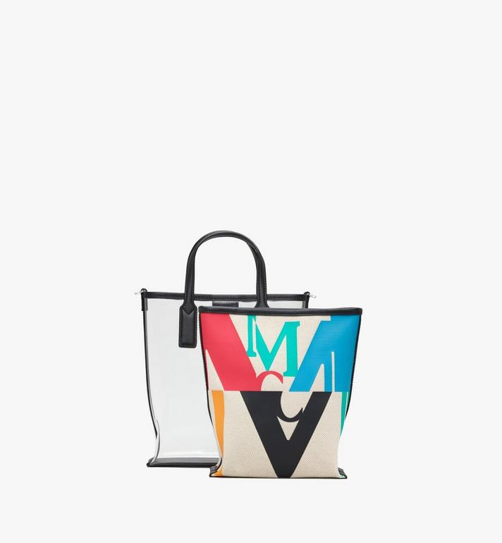 MCM Shopper in Logo Glitch Hologram  MWPAAMH04MT001 Alternate View 5