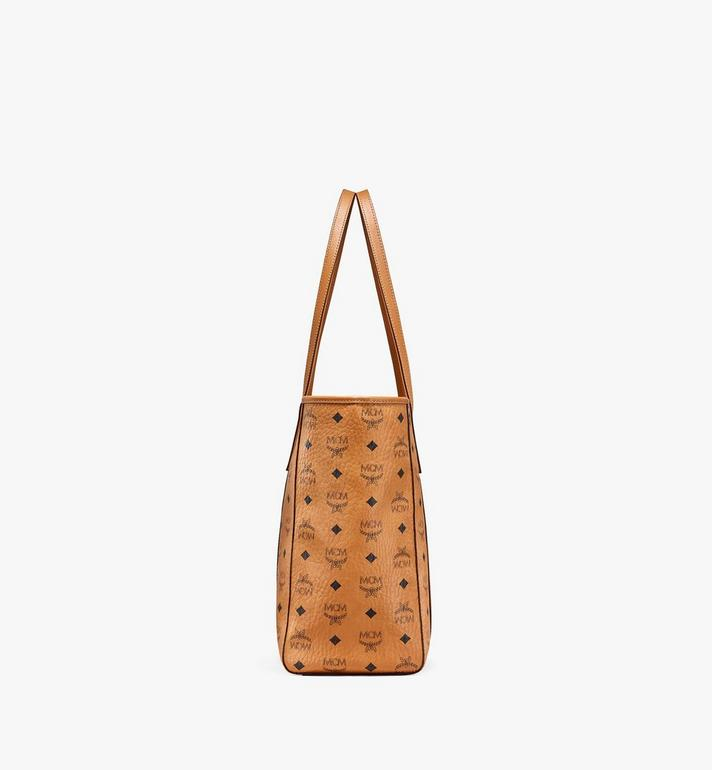 MCM Toni Shopper in Visetos Cognac MWPAATN01CO001 Alternate View 2