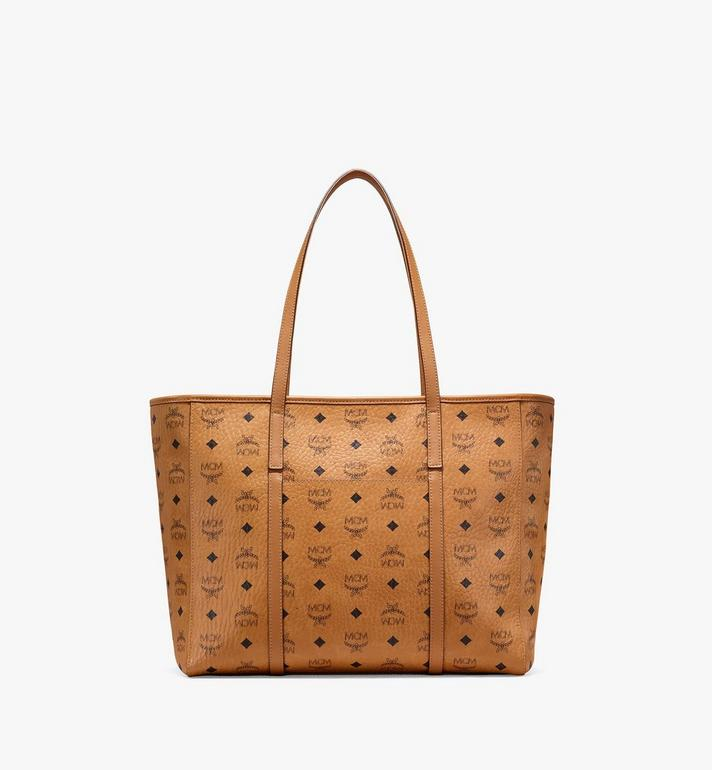 MCM Toni Shopper in Visetos Cognac MWPAATN01CO001 Alternate View 4