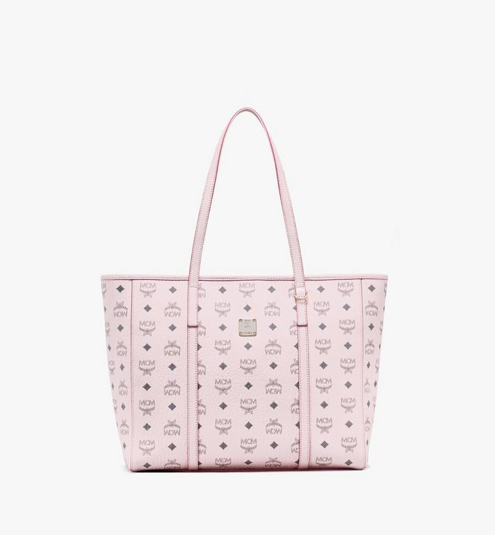 MCM Toni Shopper in Visetos Pink MWPAATN01QH001 Alternate View 1