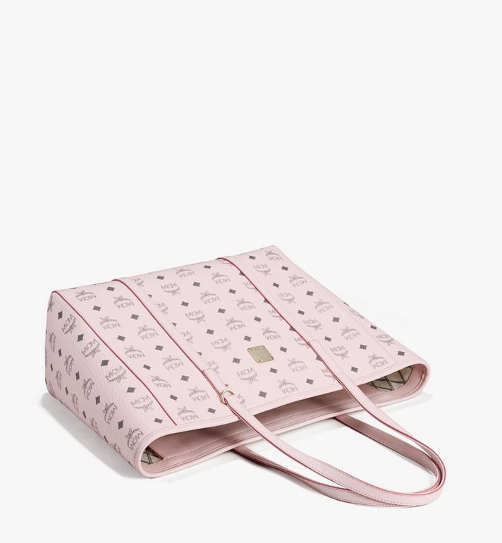 MCM Toni Shopper in Visetos Pink MWPAATN01QH001 Alternate View 3