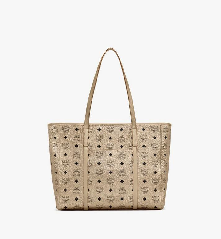 MCM Toni Shopper in Visetos  MWPAATN02T1001 Alternate View 4