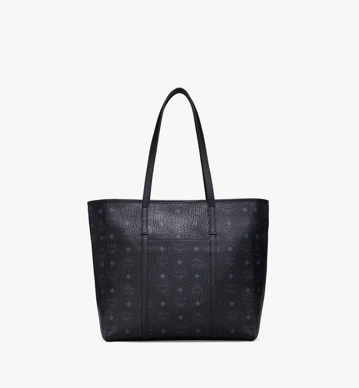 MCM Toni Shopper in Visetos Black MWPAATN03BK001 Alternate View 4