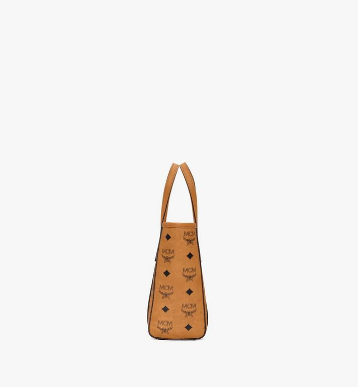 MCM Toni Shopper in Visetos Cognac MWPAATN04CO001 Alternate View 2