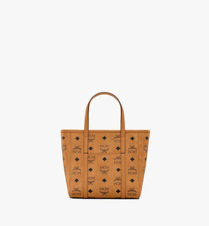 MCM Toni Shopper in Visetos Cognac MWPAATN04CO001 Alternate View 4
