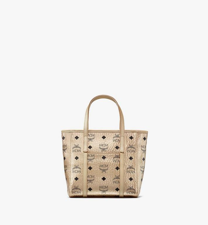 MCM Toni Shopper in Visetos  MWPAATN05T1001 Alternate View 4