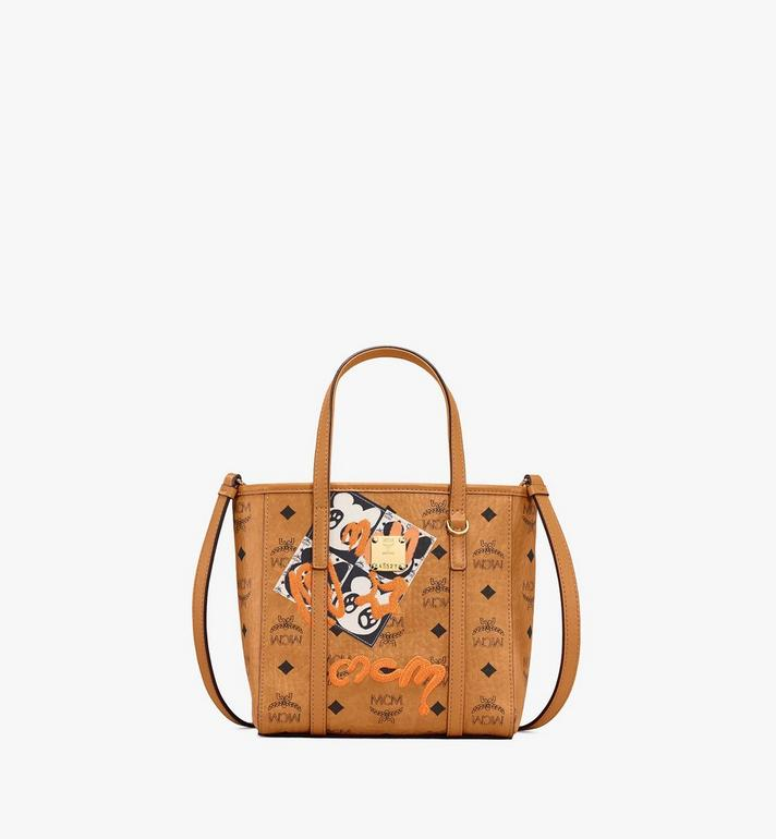 MCM Toni Shopper in Berlin Bear Visetos Alternate View
