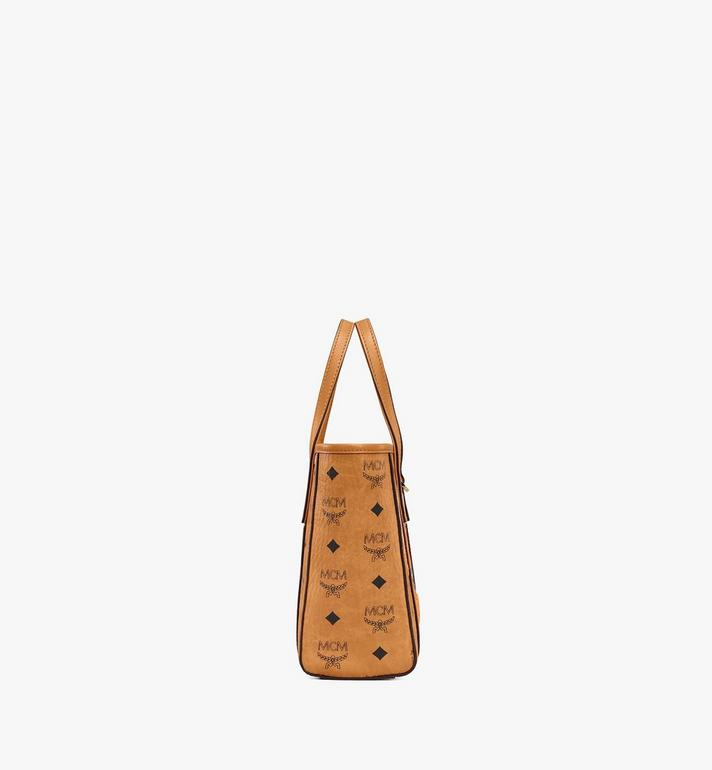 MCM Sac cabas Toni en Berlin Bear Visetos Cognac MWPAATN10CO001 Alternate View 2