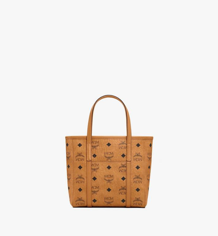 MCM Toni Shopper in Berlin Bear Visetos Cognac MWPAATN10CO001 Alternate View 4