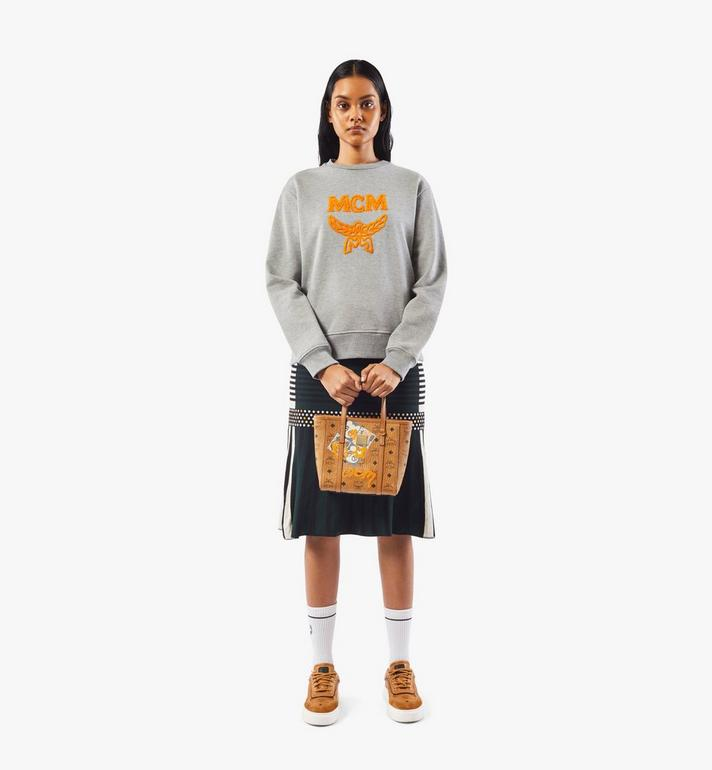 MCM Toni Shopper in Berlin Bear Visetos Cognac MWPAATN10CO001 Alternate View 6