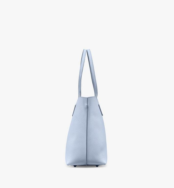 MCM Yris Shopper in Tani Leather Blue MWPAAYS01H4001 Alternate View 2