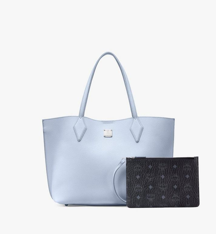 MCM Yris Shopper in Tani Leather Blue MWPAAYS01H4001 Alternate View 5