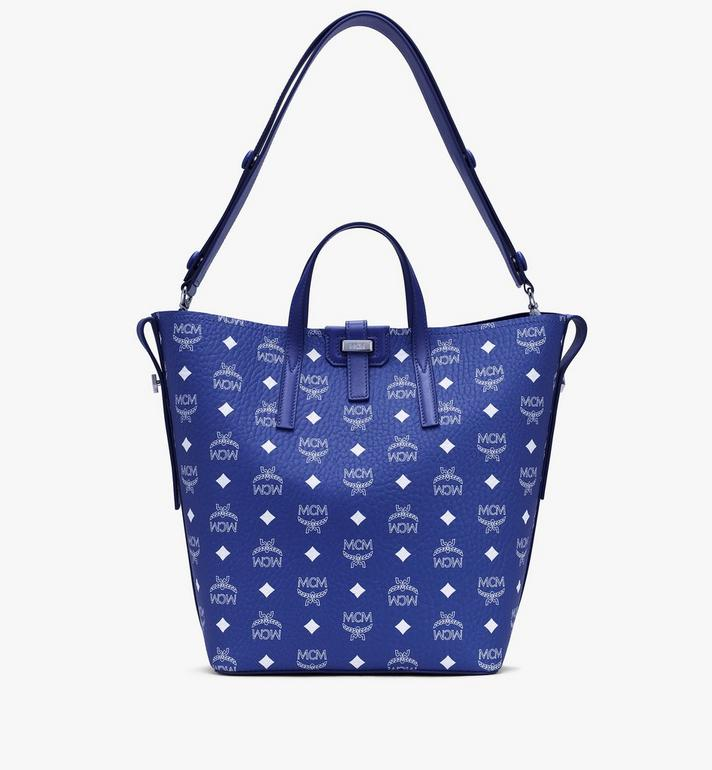 MCM Visetos 系列的 Gunta 購物袋款 Blue MWPASGU01H1001 Alternate View 1