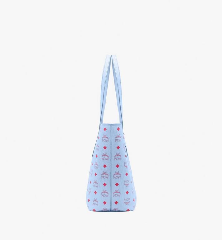 MCM Anya Shopper in Visetos Blue MWPASVI01H2001 Alternate View 3