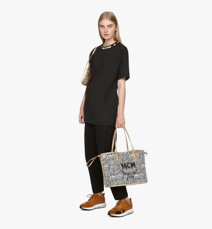 MCM Liz Reversible Shopper in Visetos Gold MWPASVI02T1001 Alternate View 8