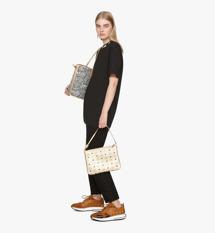 MCM Liz Reversible Shopper in Visetos Gold MWPASVI02T1001 Alternate View 9