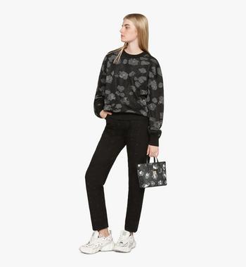 MCM Anya Mini-Shopper mit geblümtem Leopardenmuster Black MWPASVI04B1001 Alternate View 6
