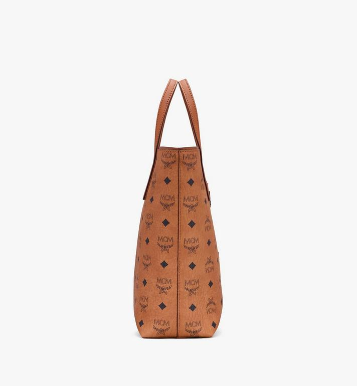 MCM Visetos 系列的鼠年 Anya Shopper 包款 Cognac MWPASVI06CO001 Alternate View 2