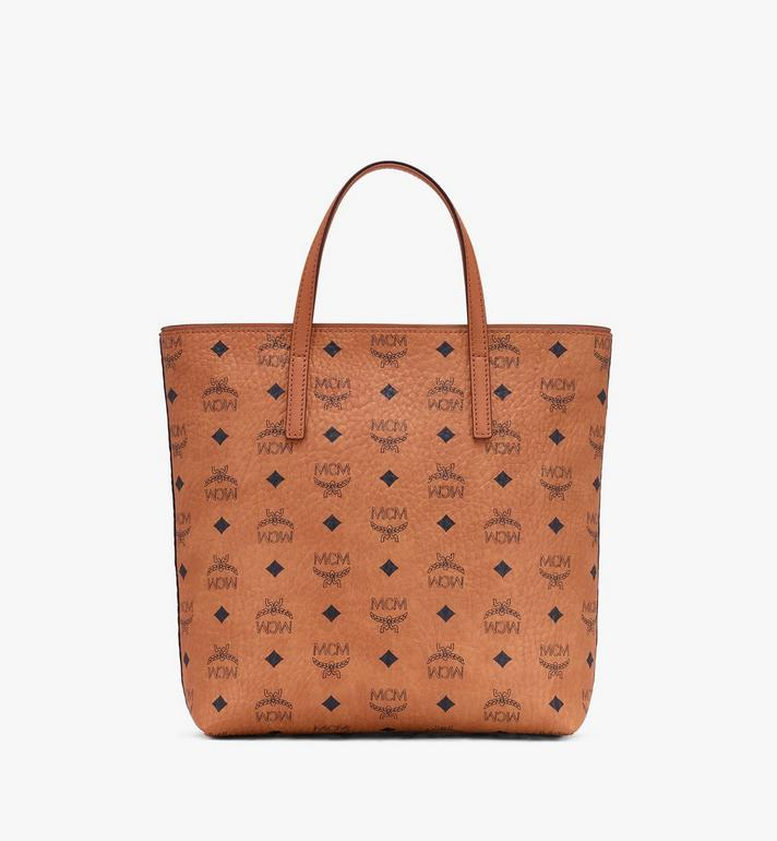 MCM Year Of The Mouse Anya Shopper in Visetos Cognac MWPASVI06CO001 Alternate View 3